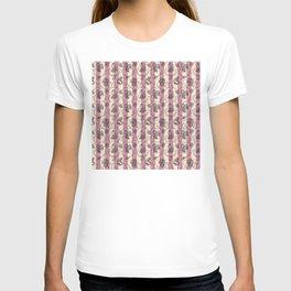 Stripes & Shells - red T-shirt