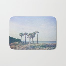 Seven Palm Trees Bath Mat