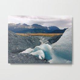 Exit Glacier, Alaska Metal Print