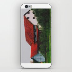 Vermont Country Farmhouse iPhone & iPod Skin