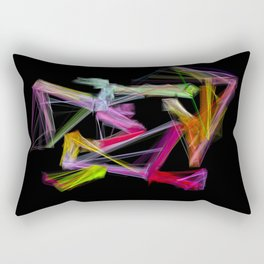Zigzangles Rectangular Pillow