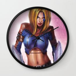10th Muse by Keu Cha (X-men & Witchblade) Wall Clock