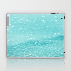Glitter Turquoise Laptop & iPad Skin