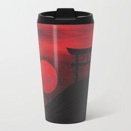 Sunset in Japan Travel Mug