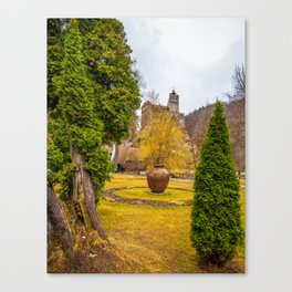 Castelul Bran Canvas Print