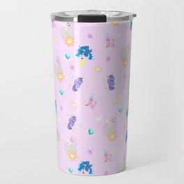 Pony Princess Print Travel Mug