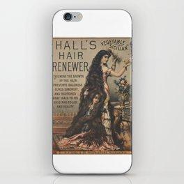 Halls Hair Renewer iPhone Skin