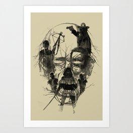 Dead Walker Art Print