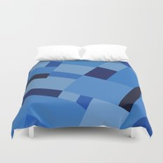 Peckham Blue 45 Duvet Cover