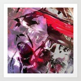 Joan Ferguson Graffiti Art Print