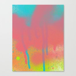 Color Test: Fun with Paint 6 Canvas Print