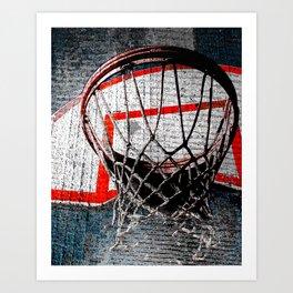 Modern basketball artwork cx 6 Art Print