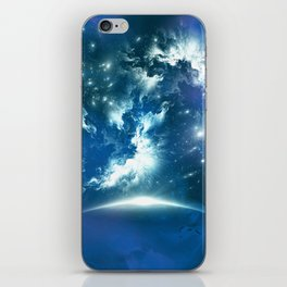 Space Fight iPhone Skin