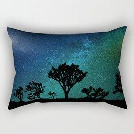 Milky Way Joshua Tree Rectangular Pillow