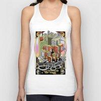 metropolis Tank Tops featuring Metropolis  by KRNago