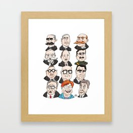 Presidents of Finland Framed Art Print