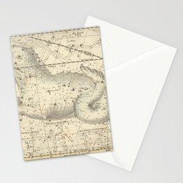 Alexander Jamieson - Celestial Atlas 1822 Plate 23 Cetus Stationery Cards