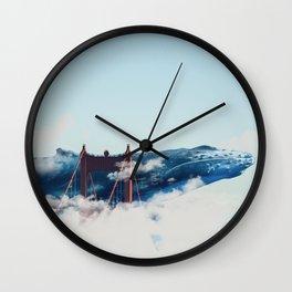 Whale Watching San Fran Wall Clock