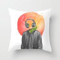 Wireless Throw Pillow