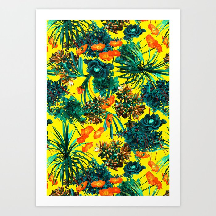 Exotic Garden IV Art Print