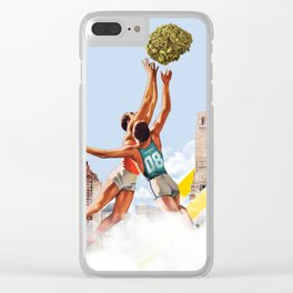 Basket Nugs Clear iPhone Case