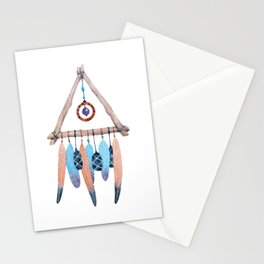 Boho Dreamcatcher Stationery Cards