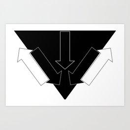 Arrows 2 Art Print
