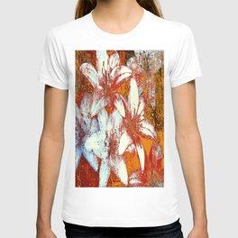 White Flowers  T-shirt