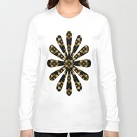 floral pattern Long Sleeve T-shirts featuring Floral Pattern by Christina Rollo