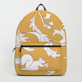Squirrels and Acorns Pattern Backpack