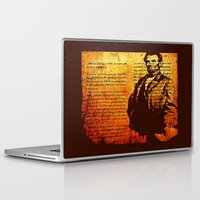 lincoln Laptop & iPad Skins featuring Abraham Lincoln by Saundra Myles