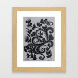 NatureLove Pen Drawing Framed Art Print