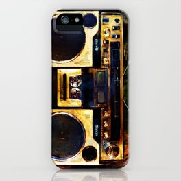 Radio is Killin Me iPhone Case