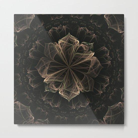 Ornate Blossom Metal Print