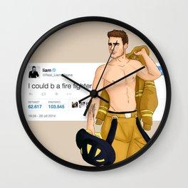 Fireman Liam Wall Clock