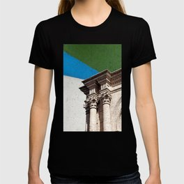 Collage from the Basilica Cathedral of Arequipa in Peru #eclecticart T-shirt