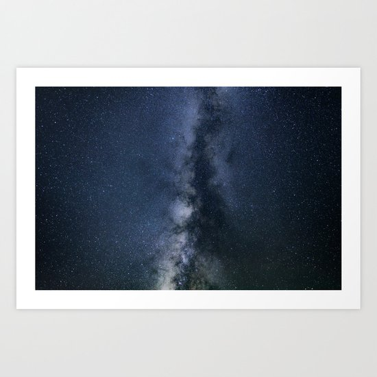 Galaxy Explore Art Print