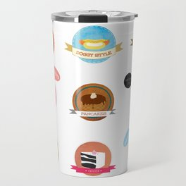 American food porn Travel Mug