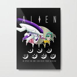 ALIEN DBZ Metal Print