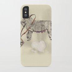 Love: A Bitch iPhone X Slim Case