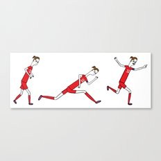 0 to 60 in under 3...goal! Canvas Print