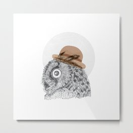 Owl you doin Metal Print