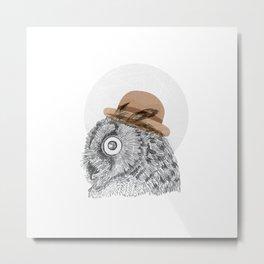 Owl you doin Metal Print