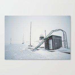Abandon Iqaluit D.E.W. Line Site 1 Canvas Print