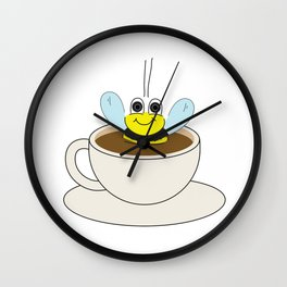 Buzzin' Wall Clock