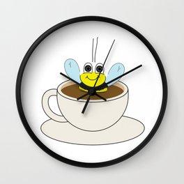 Buzzin' Wall Clock