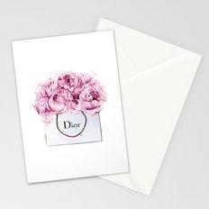 Fashion print,Wall Decor, Poster,Lips eyelashes print,Beauty print,Pink Lips Makeup Print prints mak Stationery Cards