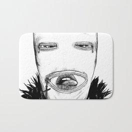asc 424 - Le masque de la Toussaint (Trick or treat!) Bath Mat