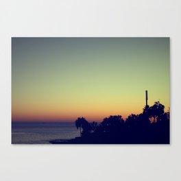 malibu sunset, fall Canvas Print