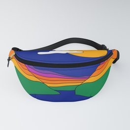 Rainbow Ravine Fanny Pack